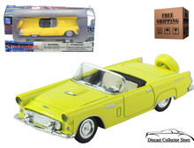 1956 Ford Thunderbird NEWRAY City Cruiser Diecast 1:43 Scale Yellow FREE SHIPPING