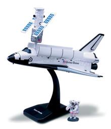 SPACE SHUTTLE NASA 1/200 Scale Plastic Model Assembly Kit NewRay