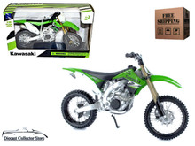 Kawasaki KX 450F Motorcycle New Ray Diecast 1:12 Scale FREE SHIPPING