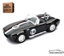 1966 Shelby Cobra 427 S/C NewRay City Cruiser Diecast 1:32 Scale Black