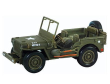 Willys Jeep U.S. Army NewRay City Cruiser Diecast 1:32 Scale FREE SHIPPING