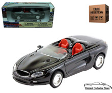 1994 Ford Mustang Mach III Convertible NEWRAY City Cruiser Diecast 1:43 Black FREE SHIPPING