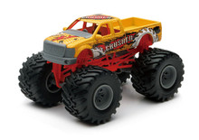 Monster Truck Off Road Pickup Newray Diecast 1:43 Scale Yellow New in Box