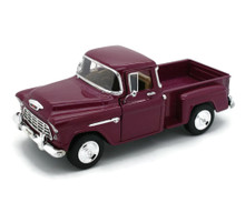 1955 Chevy 3100 Stepside Pickup SUPERIOR / SUNNYSIDE Diecast 1:24 Cranberry