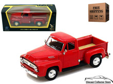 1953 Ford F-100 Pickup ROAD SIGNATURE Diecast 1:43 Scale Red FREE SHIPPING