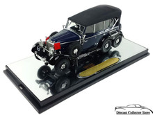 1938 Mercedes-Benz G4 SIGNATURE MODELS PREMIER Diecast 1:43 Scale Blue/Black