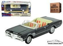 1966 Oldsmobile Cutlass 442 NEWRAY City Cruiser Diecast 1:43 Black FREE SHIPPING