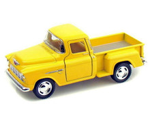 1955 Chevy Stepside Pickup KINSMART Diecast 1:32 Scale Yellow FREE SHIP{PING