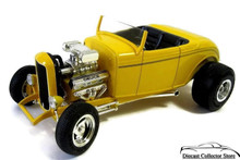 1932 Ford Street Rod American Muscle ERTL Diecast 1:18 Scale Yellow