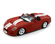 1999 Shelby Series 1 MAISTO Diecast 1:18 Scale Red  Minor damage 50% off