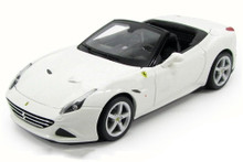Ferrari California T (open top) Bburago Diecast 1:24 Scale White MIB