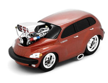 2000 Chrysler PT Cruiser MUSCLE MACHINES Diecast 1:18 Scale Brown