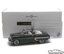 FRANKLIN MINT 1954 Chevrolet Bel Air Convertible TINDERBOX LIMITED EDITION Diecast 1:24