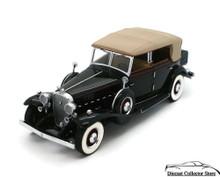 FRANKLIN MINT 1932 Cadillac V-16 Phaeton Elliot Ness Diecast 1:24 Scale