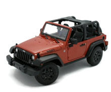 2014 Jeep Wrangler Willys Open Top MAISTO Diecast 1:18 Scale Copper