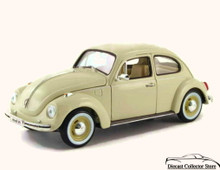 1955 Volkswagon Kafer-Beetle MAISTO SPECIAL EDITION Diecast 1:18 Scale Beige