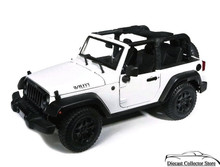 2014 Jeep Wrangler Willys MAISTO SPECIAL EDITION Diecast 1:18 Scale White