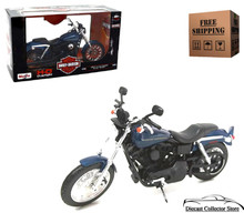 Harley Davidson 2004 Dyna Super Glide Sport MAISTO Diecast 1:12 FREE SHIPPING