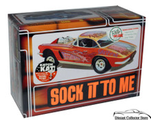 "1962 Corvette ""Sock it to Me"" AMT Model Kit 1:25 Scale ENHANCED REISSUE"