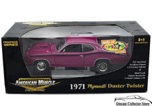 1971 Plymouth Duster Twister AMERICAN MUSCLE LE 1600 pcs Diecast 1:18 Scale