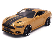 2015 Ford Mustang GT MAISTO MUSCLE Diecast 1:24 Scale Gold