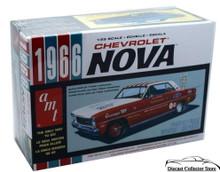 1966 Chevrolet Nova 3'n 1 AMT Ertl Model Kit 1:24 Scale