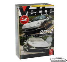 2012 Corvette Coupe & Convertible 2 kits in 1 AMT Vette Magazine Model Kit 1:25