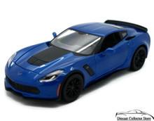 2015 Chevrolet Corvette Z06 MAISTO Diecast 1:24 Scale Blue