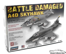 BATTLE DAMAGED A4D Skyhawk Lindberg Aircraft Model Kit 1:72 FREE SHIPPING