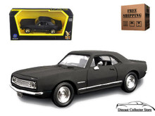 1967 Chevrolet Camaro Z-28 ROAD SIGNATURE Diecast 1:43 Matte Black FREE SHIPPING