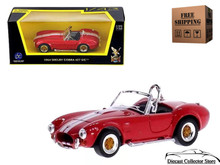 1964 Shelby Cobra 427 S/C Road Signature Diecast 1:43 Scale Red FREE SHIPPING