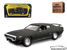 1971 Plymouth GTX  ROAD SIGNATURE Diecast 1:43 Matte Black FREE SHIPPING