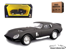 1965 Shelby Daytona Cobra Coupe ROAD SIGNATURE Diecast 1:43 Matte Black FREE SHIPPING