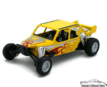"Turbo Sandrail Kinsmart Diecast 5"" estimate 1:38 Scale Yellow FREE SHIPPING"