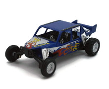 "Turbo Sandrail Kinsmart Diecast 5"" estimate 1:38 Scale Blue FREE SHIPPING"