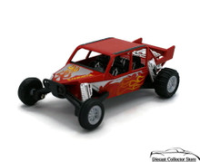 "Turbo Sandrail Kinsmart Diecast 5"" estimate 1:38 Scale Red FREE SHIPPING"