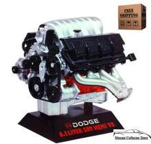 Dodge 6.1 Liter SRT Hemi V8 Engine HAWK Diecast 1:6  Scale 11070 FREE SHIPPING