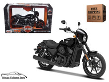 HARLEY DAVIDSON 2015 Street 750 MAISTO Diecast 1:12 Scale FREE SHIPPING