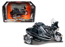 HARLEY DAVIDSON 1998 FLHT Electra Glide Standard w/ Side Car Diecast 1:18 Scale FREE SHIPPING