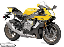 2016 Yamaha YZF-R1 NEW RAY Diecast 1:12 Scale Yellow FREE SHIPPING