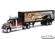 INTERNATIONAL LONESTAR Container Semi Hauler Route 66 Graphics NEWRAY Diecast 1:32