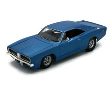 1969 Dodge Charger R/T MAISTO SPECIAL EDITION Diecast 1:25 Scale Blue