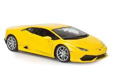 Lamborghini Huracan LP 610-4 BBURAGO Diecast 1:18 Scale Yellow