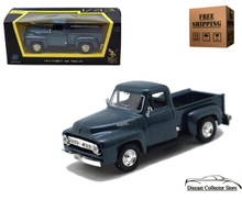 1953 Ford F-100 Pickup ROAD SIGNATURE Diecast 1:43 Scale Dark Blue FREE SHIPPING