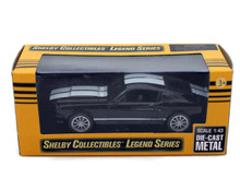 1967 Shelby GT350 SHELBY COLLECTIBLES LEGEND SERIES Diecast 1:43 Scale Black