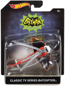 Classic TV Series BATCOPTER Hot Wheels Diecast 1:50 Scale FREE SHIPPING