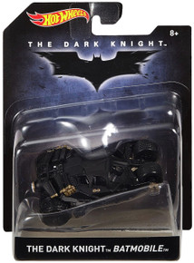 THE DARK KNIGHT BATMOBILE Hot Wheels Diecast 1:50 Scale FREE SHIPPING