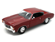 1971 Chevrolet Chevelle SS 454 MAISTO SPECIAL EDITION Diecast 1:18 Scale Crimson Red