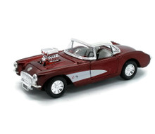 1957 Chevrolet Corvette SUNNYSIDE Diecast 1:32 Scale Candy Red FREE SHIPPING
