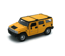 Hummer H2 SUV Maisto Diecast 1:46 Scale Yellow FREE SHIPPING